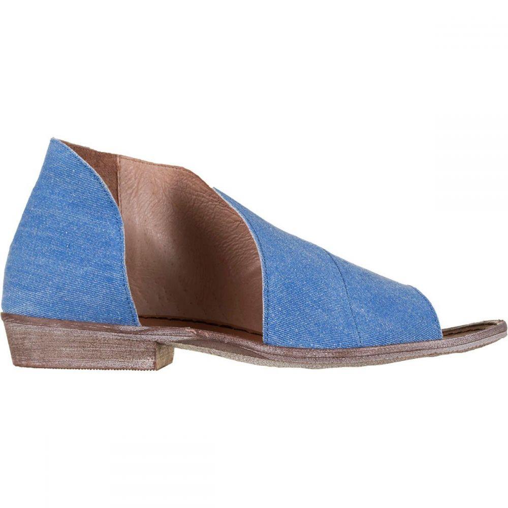 フリーピープル レディース シューズ・靴 サンダル・ミュール【Denim Mont Blanc Sandal】Washed Denim