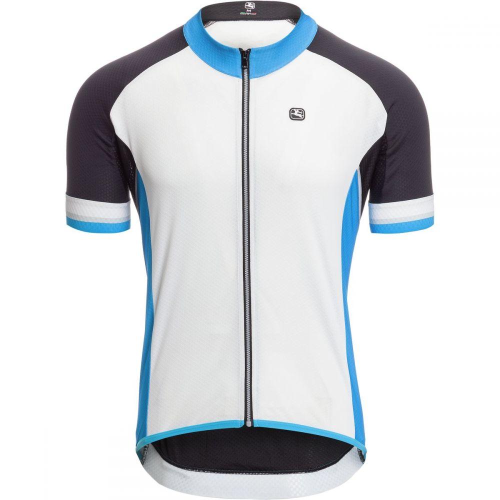 ジョルダーノ メンズ 自転車 トップス【SilverLine Classic Jersey - Short - Sleeves】White/Blue