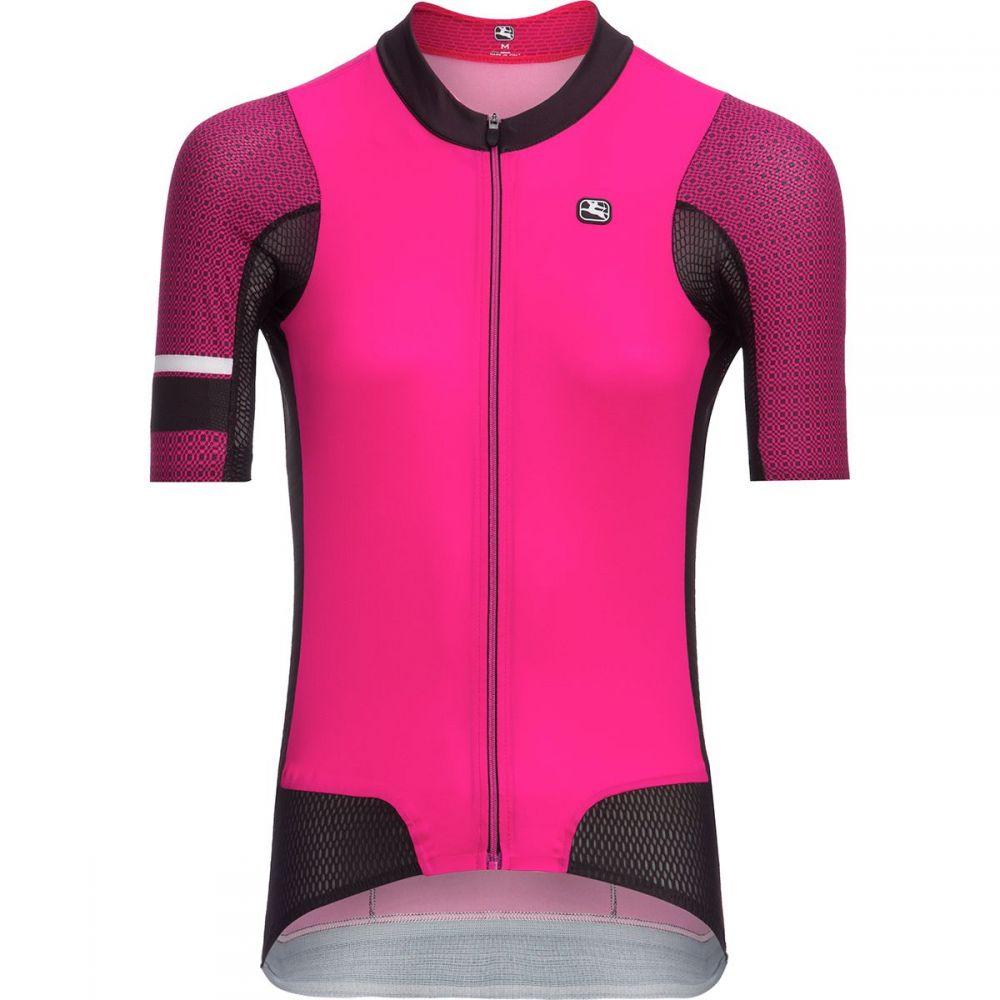 ジョルダーノ レディース 自転車 トップス【NX - G Air Short - Sleeve Jersey】Pink/Black