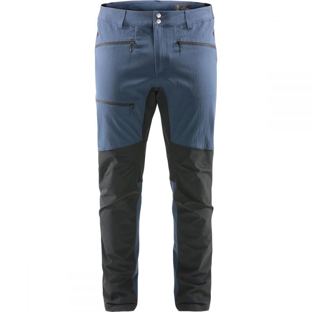 高級ブランド ホグロフス メンズ ハイキング・登山 ボトムス・パンツ【Rugged Flex Pants】Tarn Blue/True Black, 博多区 190d4e5b