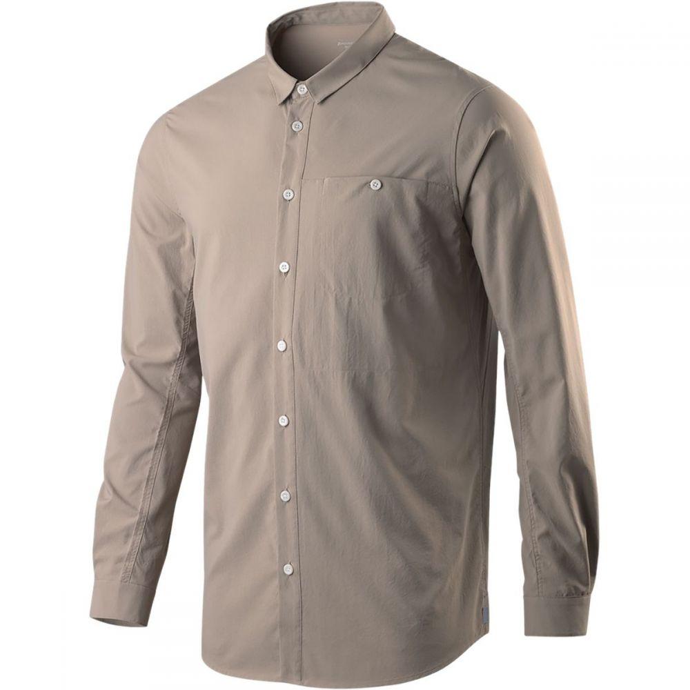 フーディニ メンズ トップス シャツ【Long - Sleeve Shirts】Reed Beige