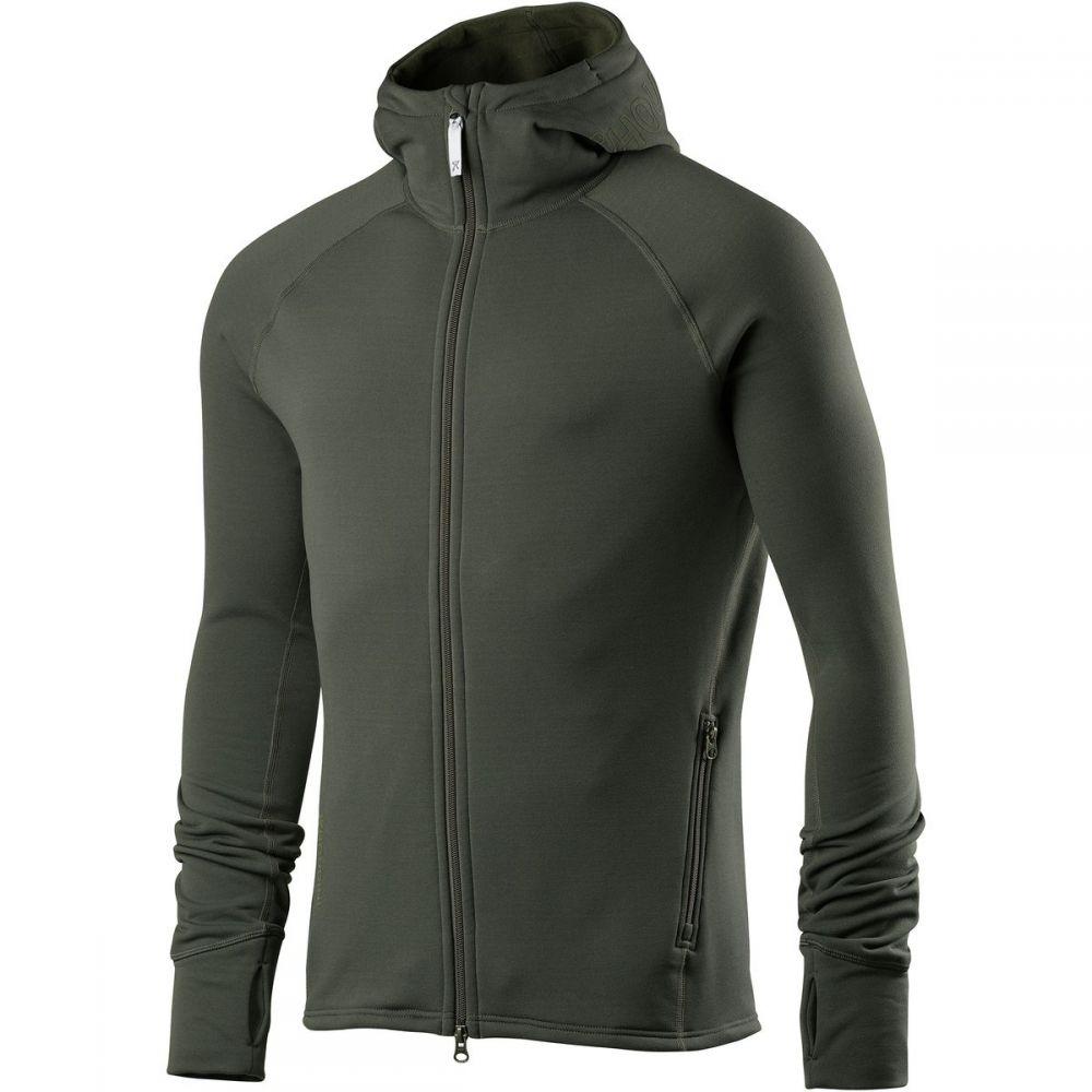 フーディニ メンズ トップス フリース【Power Houdi Fleece Jackets】Deeper Green