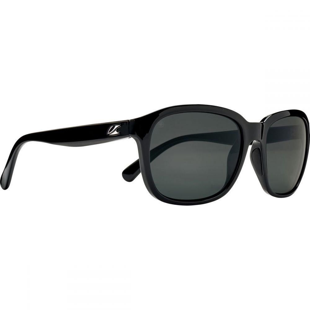 カエノン レディース スポーツサングラス【Sonoma Polarized Sunglasses】Black/Grey -Polarized