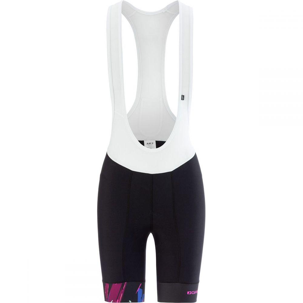 ルイガノ レディース 自転車 ボトムス・パンツ【Equipe 1.6 Bib Short】Black/Purple