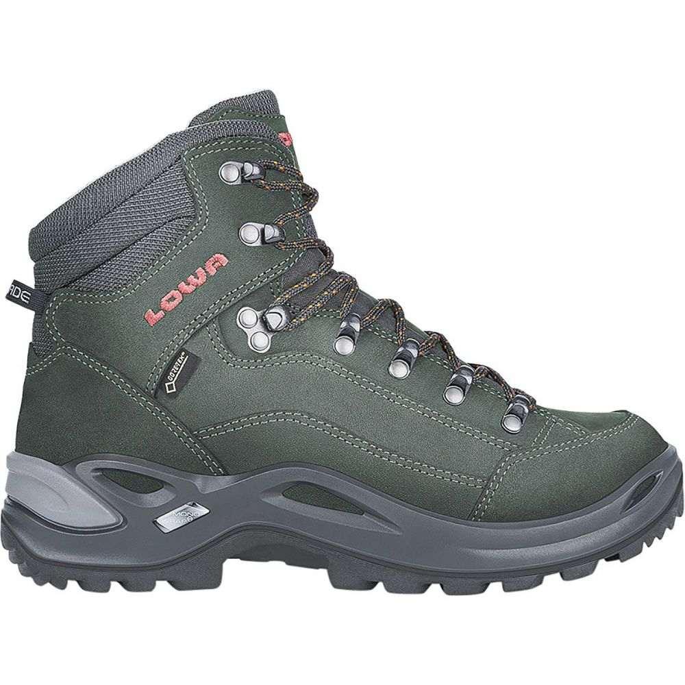ロワ レディース ハイキング・登山 シューズ・靴【Renegade GTX Mid Hiking Boot】Anthracite/Mandarin