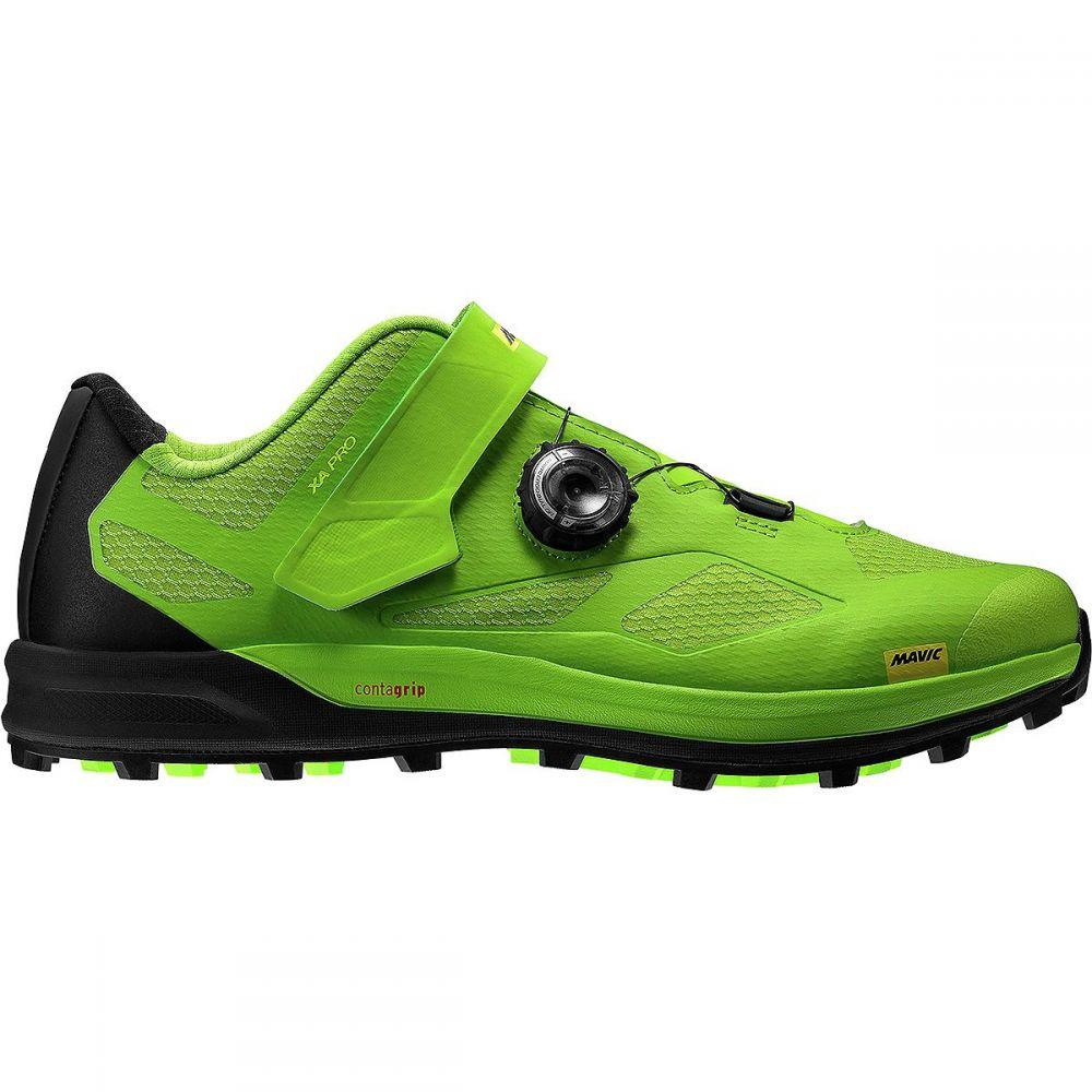 マヴィック メンズ 自転車 シューズ・靴【XA Pro Mountain Bike Shoes】Lime Green/Pirate Black/Safety Yellow