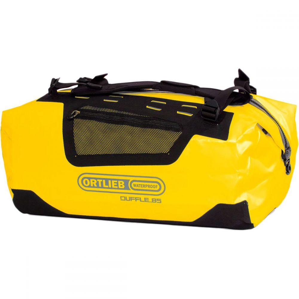 オートリービー レディース バッグ ボストンバッグ・ダッフルバッグ【110L Duffel】Sun Yellow Black