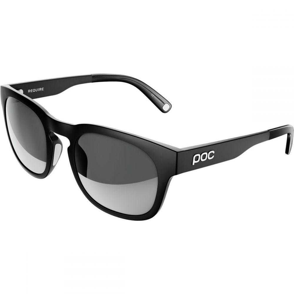 ピーオーシー レディース スポーツサングラス【Require Sunglasses】Uranium Black/Grey Polarized