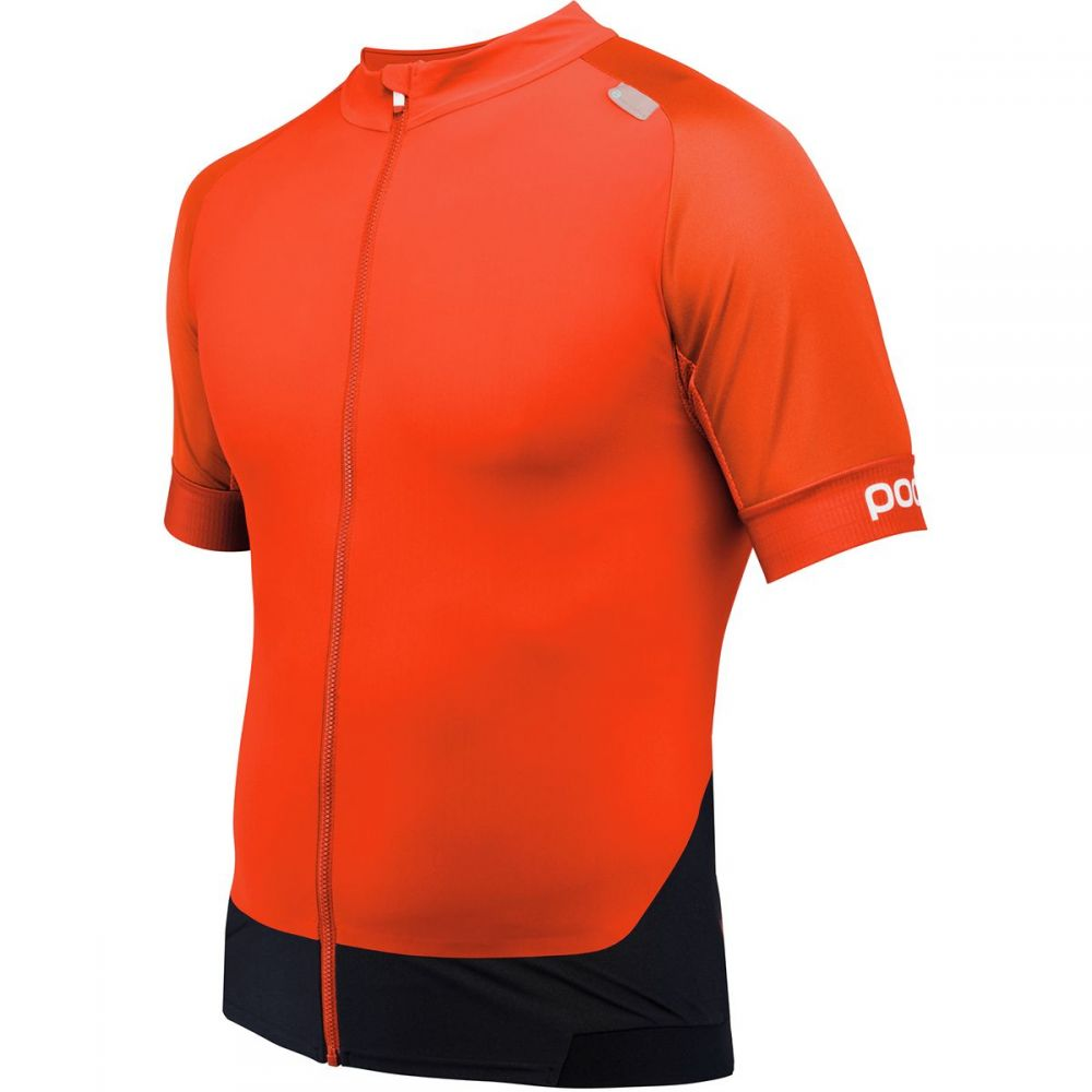 ピーオーシー メンズ 自転車 トップス【Resistance Pro XC Zip T - Shirts】Bullvalene Orange