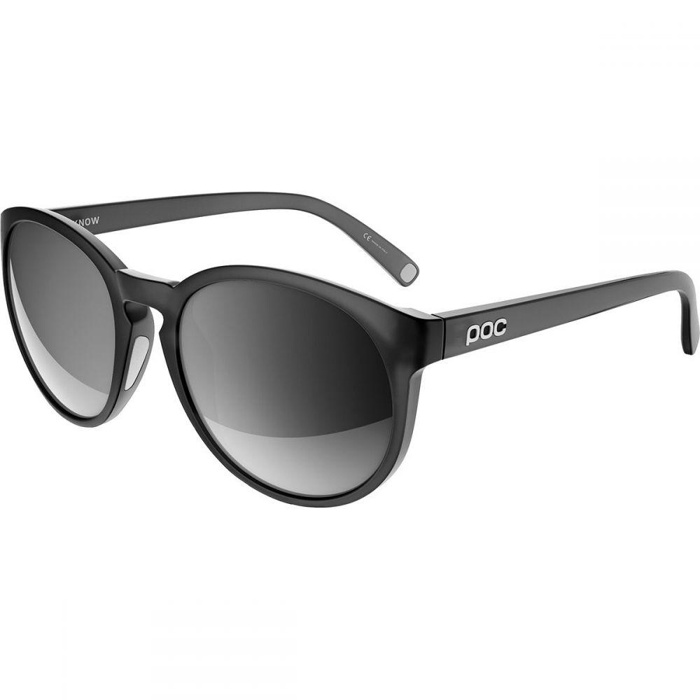 ピーオーシー レディース スポーツサングラス【Know Sunglasses】Uranium Black Translucent/Grey/White Mirror