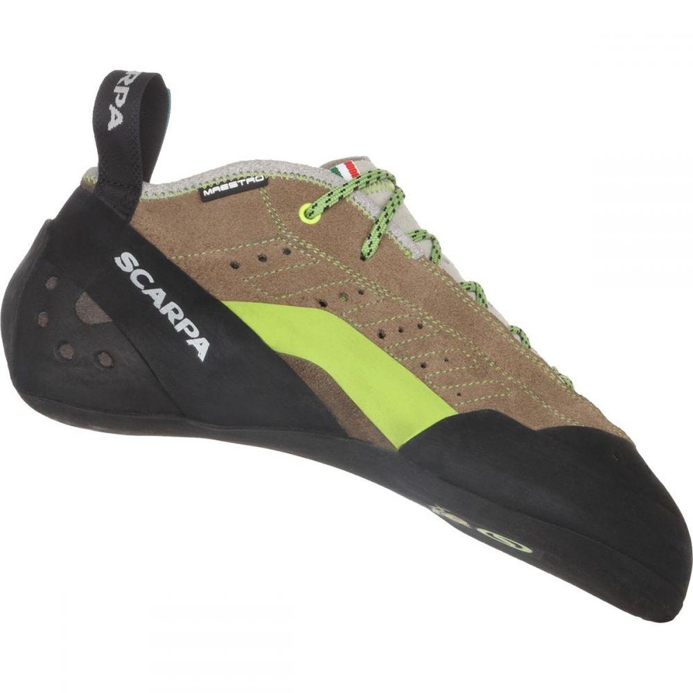 スカルパ メンズ クライミング シューズ・靴【Maestro Mid Eco Climbing Shoes】Stone/Light Grey