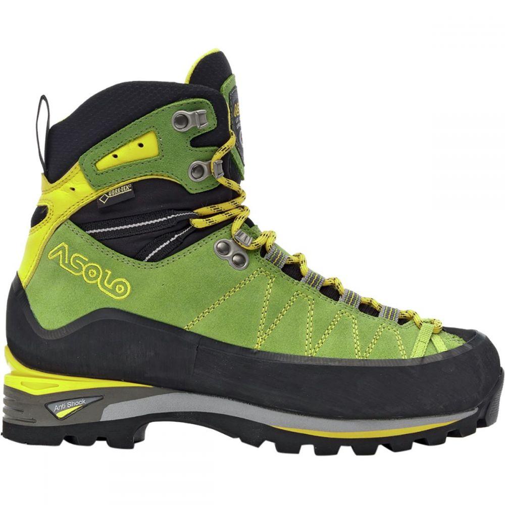 アゾロ レディース ハイキング・登山 シューズ・靴【Elbrus GV Mountaineering Boot】Lime/Mimosa