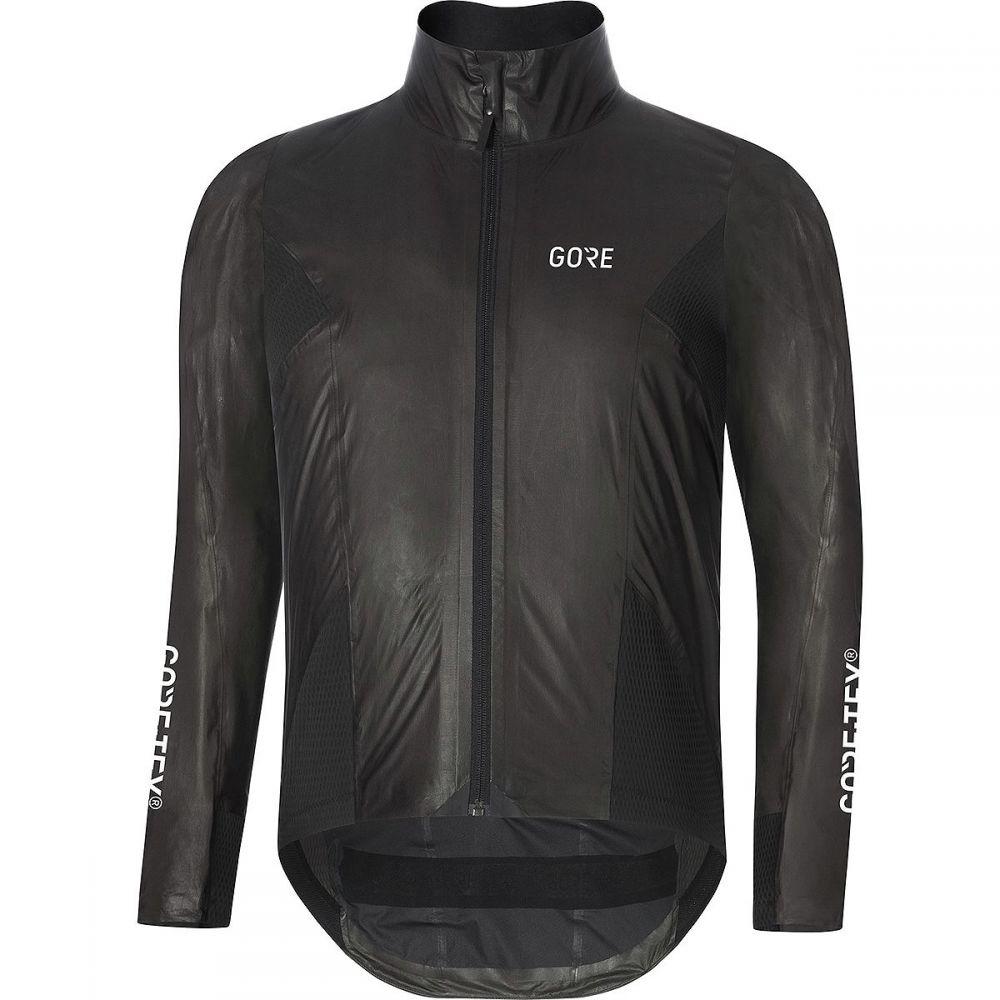 ゴアウェア メンズ 自転車 アウター【C7 Gore - Tex Shakedry Stretch Jackets】Black