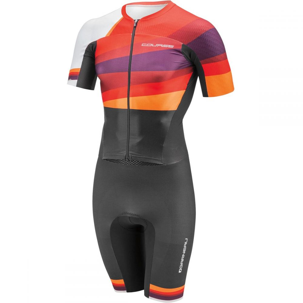 ルイガノ メンズ トライアスロン トップス【Course LGneer Triathlon Skin Suits】Multi Red