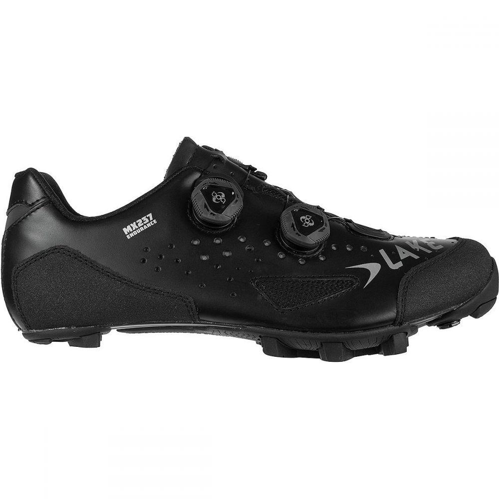レイク メンズ 自転車 シューズ・靴【MX237 Endurance Cycling Shoes】Black/Black