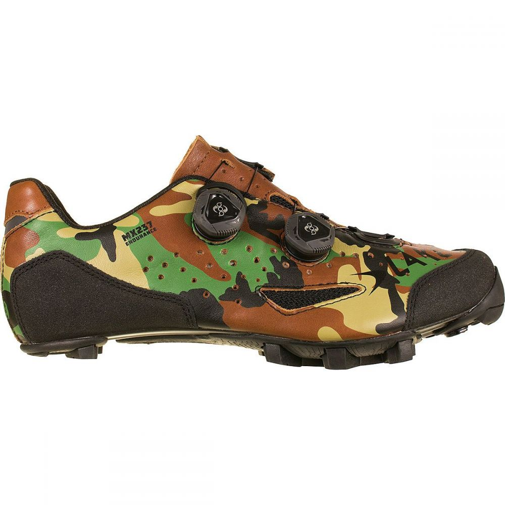 レイク メンズ 自転車 シューズ・靴【MX237 Endurance Cycling Shoes】Camo Forest