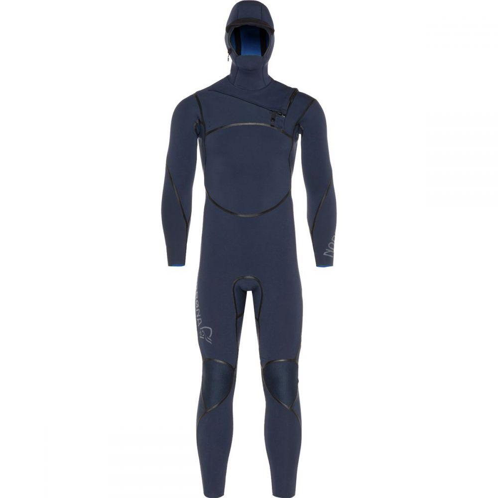 ノローナ メンズ 水着・ビーチウェア ウェットスーツ【Unstad 6/5 Hooded Wetsuits】Indigo Night