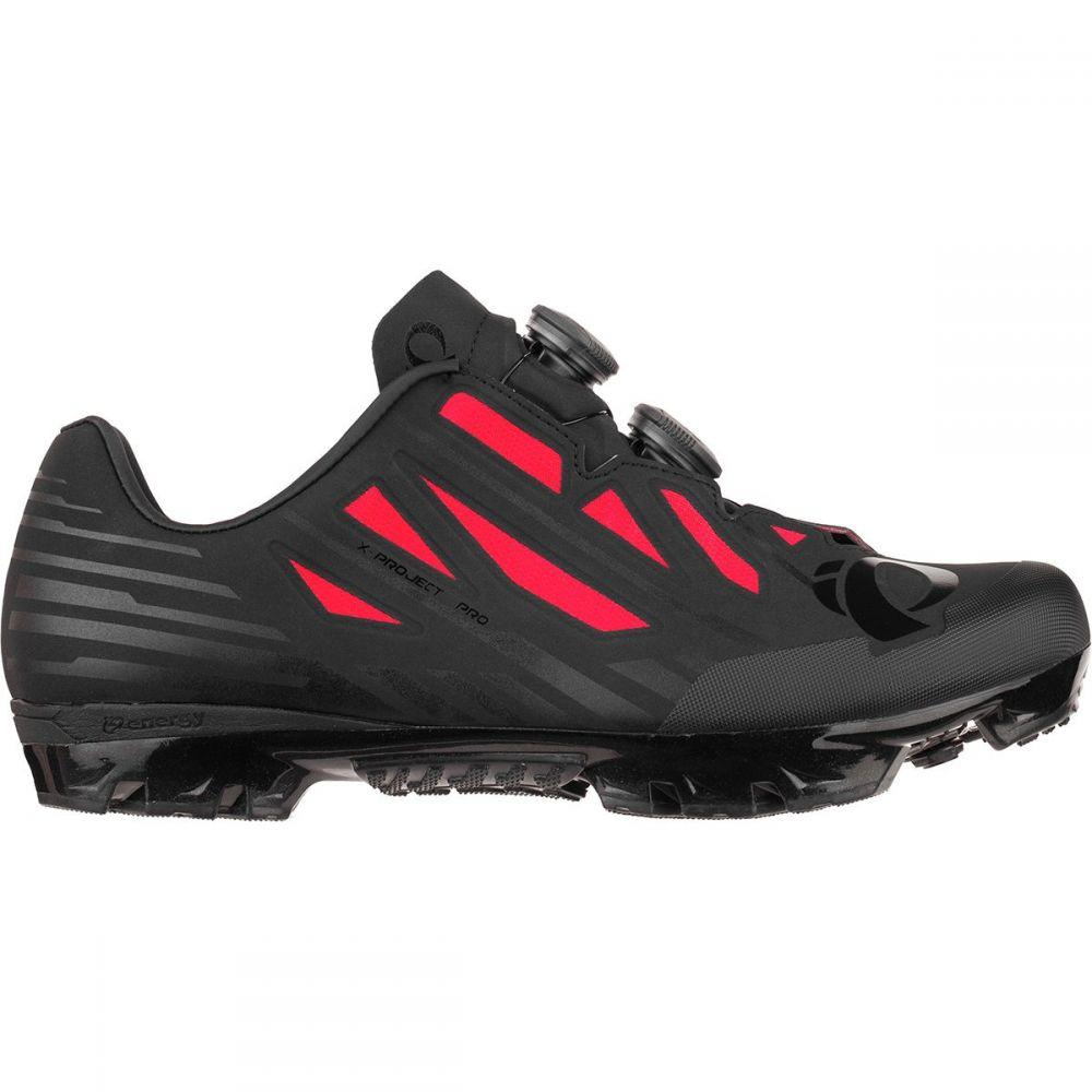 パールイズミ メンズ 自転車 シューズ・靴【X - Project P.R.O. Limited Edition Cycling Shoes】Black/Red
