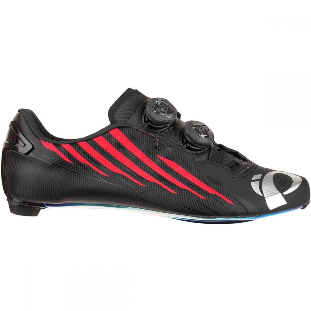 パールイズミ メンズ 自転車 シューズ・靴【Pro Leader V4 Limited Edition Cycling Shoes】Black/Red