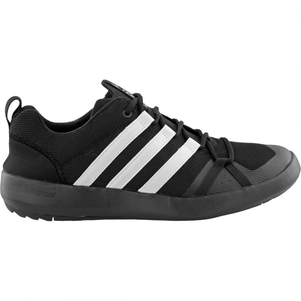 アディダス メンズ シューズ・靴 ウォーターシューズ【Climacool Boat Lace Shoes】Black/Chalk White/Black