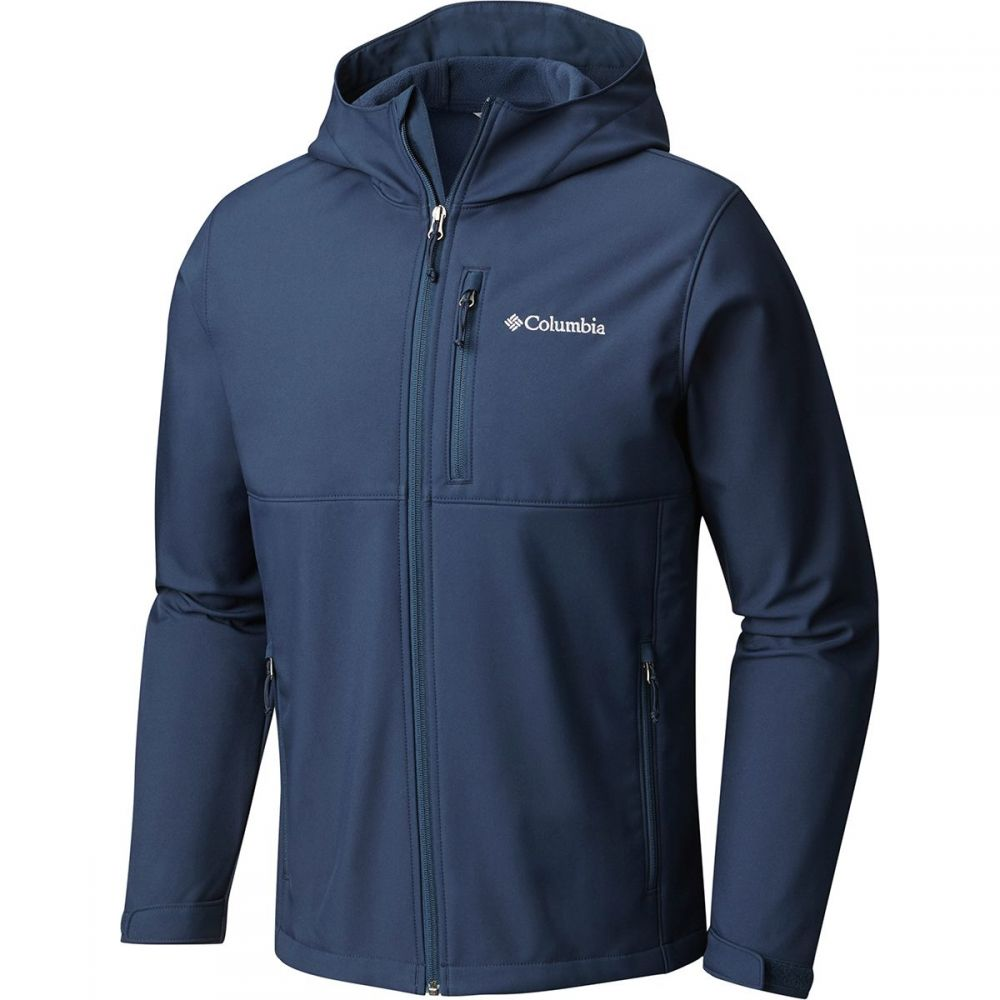 コロンビア メンズ アウター ジャケット【Ascender Softshell Hooded Jackets】Collegiate Navy