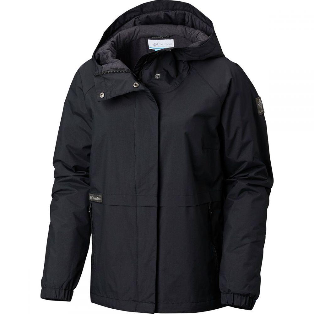 コロンビア レディース アウター レインコート【Helvetia Heights Rain Jacket】Black