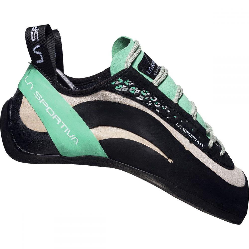 ラスポルティバ レディース クライミング シューズ・靴【Miura Climbing Shoe】White/Jade Green