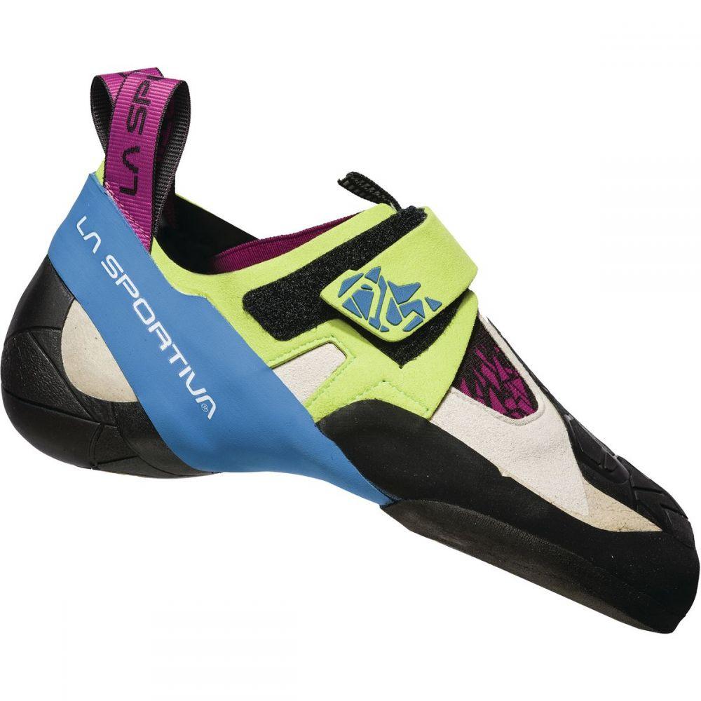 ラスポルティバ レディース クライミング シューズ・靴【Skwama Climbing Shoe】Apple Green/Cobalt Blue