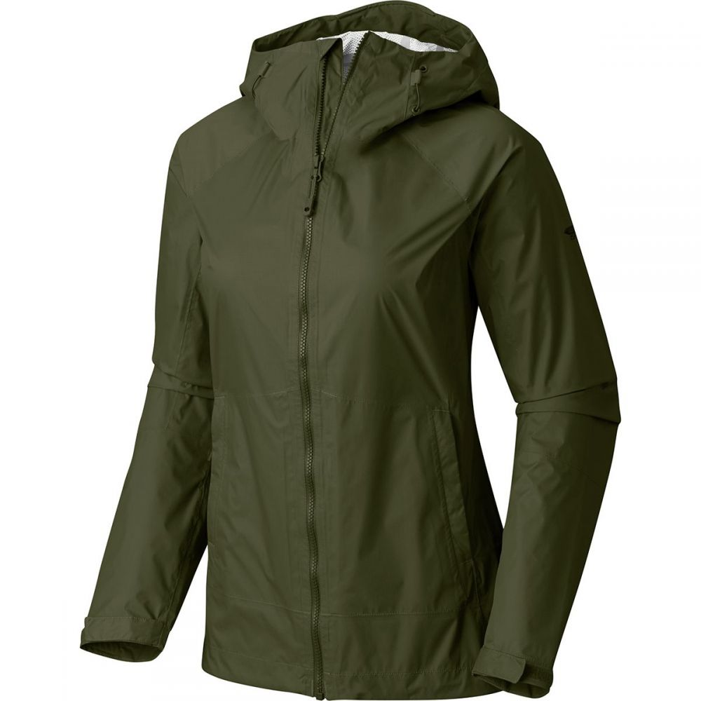 マウンテンハードウェア レディース アウター レインコート【Exponent Jacket】Surplus Green