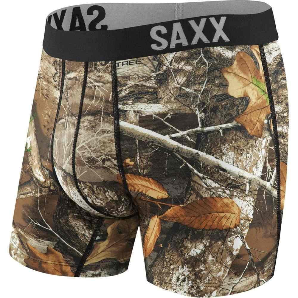 低価格で大人気の サックス メンズ Boxer インナー・下着 ボクサーパンツ【Fuse Edge Briefs】Real Boxer Briefs】Real Tree Edge, へらぶな釣り専門店 松岡釣具:a9e3a58e --- construart30.dominiotemporario.com