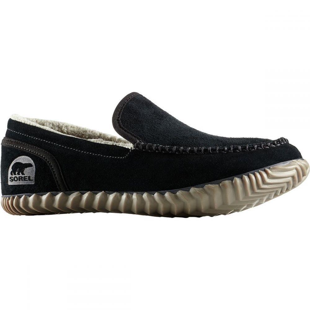 ソレル メンズ シューズ・靴 スリッパ【Dude Moc Slippers】Black/Black
