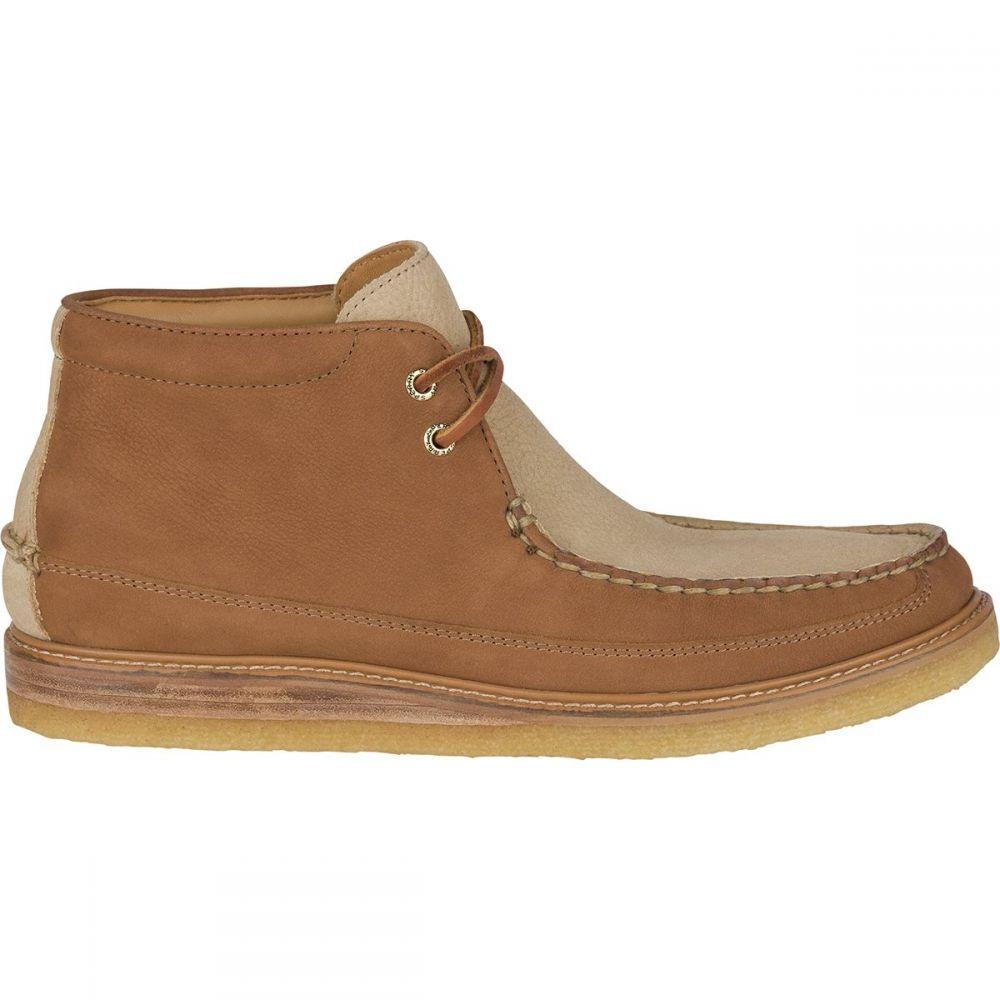 スペリー メンズ シューズ・靴 ブーツ【Gold Crepe Chukka Boots】Tan/Stone