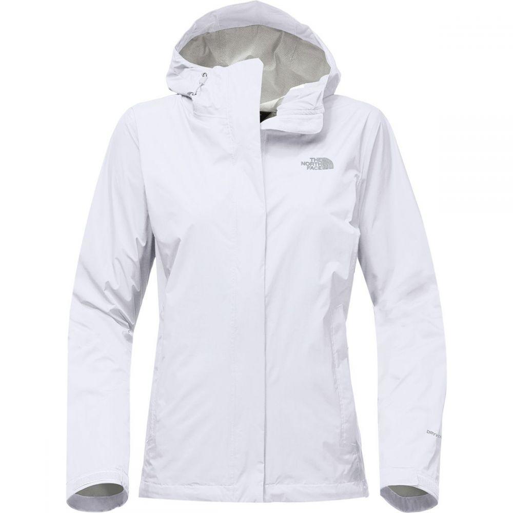 ザ ノースフェイス レディース アウター レインコート【Venture 2 Jacket】Tnf White/High Rise Grey