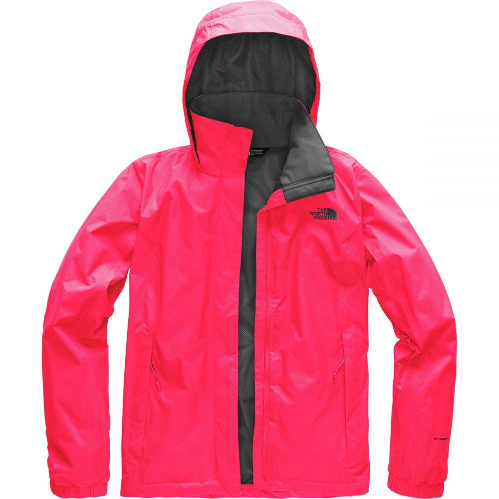 ザ ノースフェイス レディース アウター レインコート【Resolve 2 Hooded Jacket】Atomic Pink/Asphalt Grey