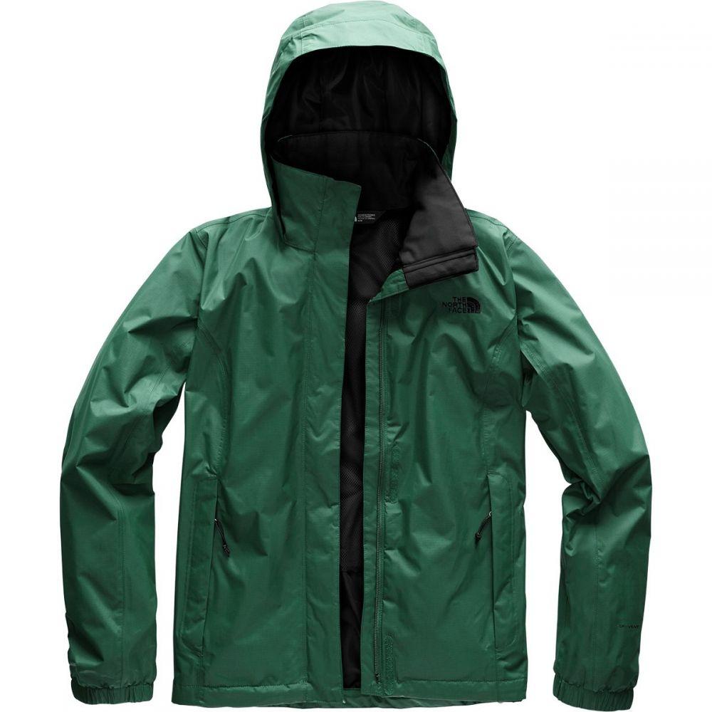 ザ ノースフェイス レディース アウター レインコート【Resolve 2 Hooded Jacket】Botanical Garden Green/Tnf Black