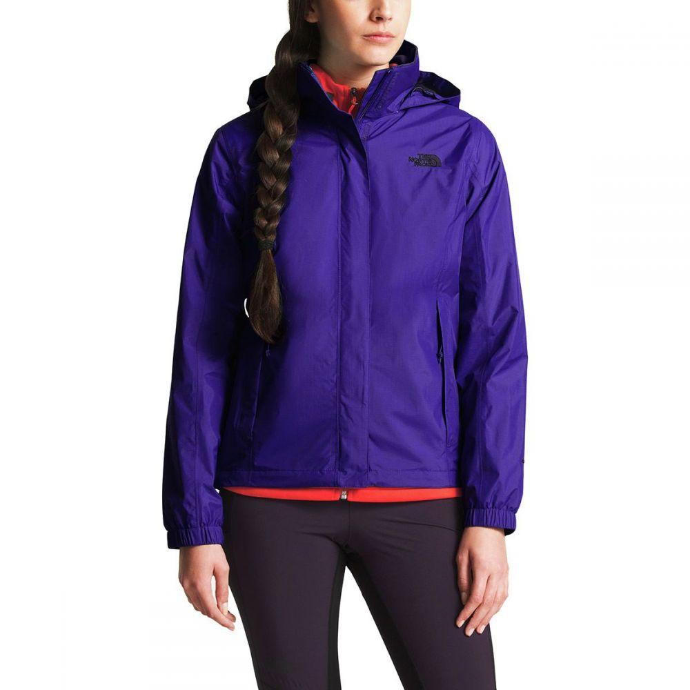 ザ ノースフェイス レディース アウター レインコート【Resolve 2 Hooded Jacket】Deep Blue/Galaxy Purple
