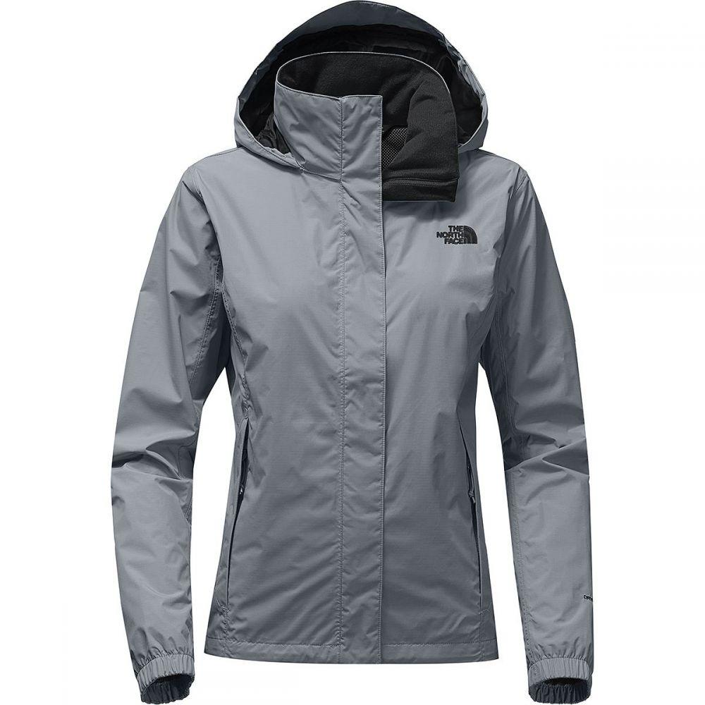 ザ ノースフェイス レディース アウター レインコート【Resolve 2 Hooded Jacket】Mid Grey/Tnf Black