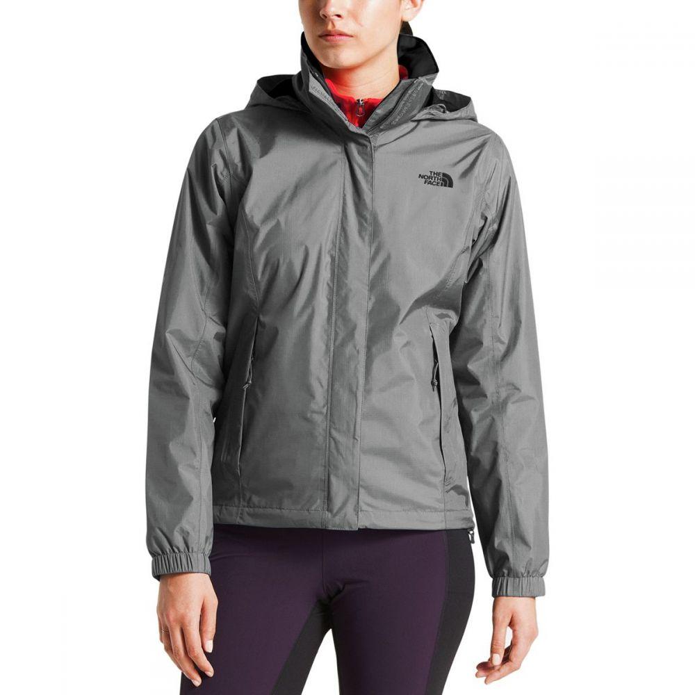 ザ ノースフェイス レディース アウター レインコート【Resolve 2 Hooded Jacket】Tin Grey/High Rise Grey