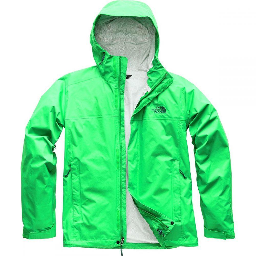 ザ ノースフェイス メンズ アウター レインコート【Venture 2 Hooded Jackets】Primary Green/Primary Green