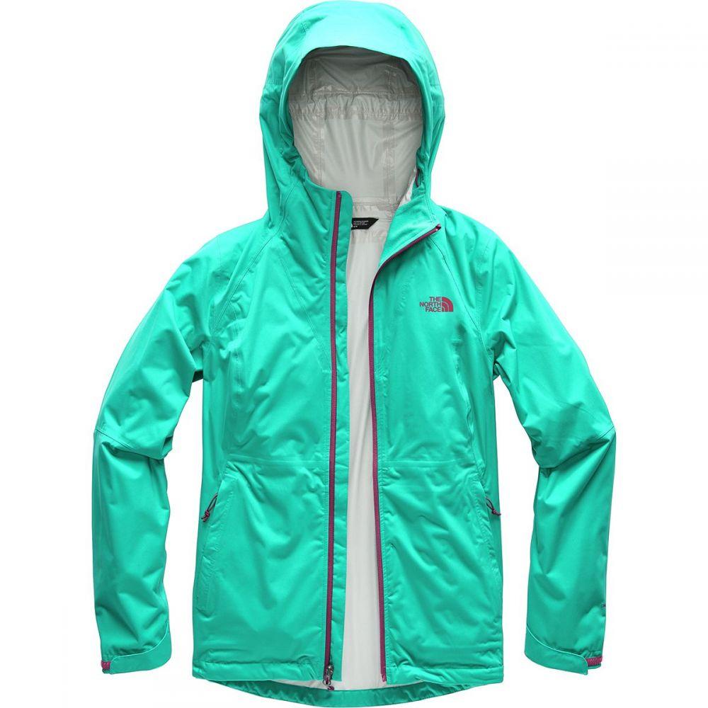 ザ ノースフェイス レディース アウター レインコート【Allproof Stretch Jacket】Kokomo Green