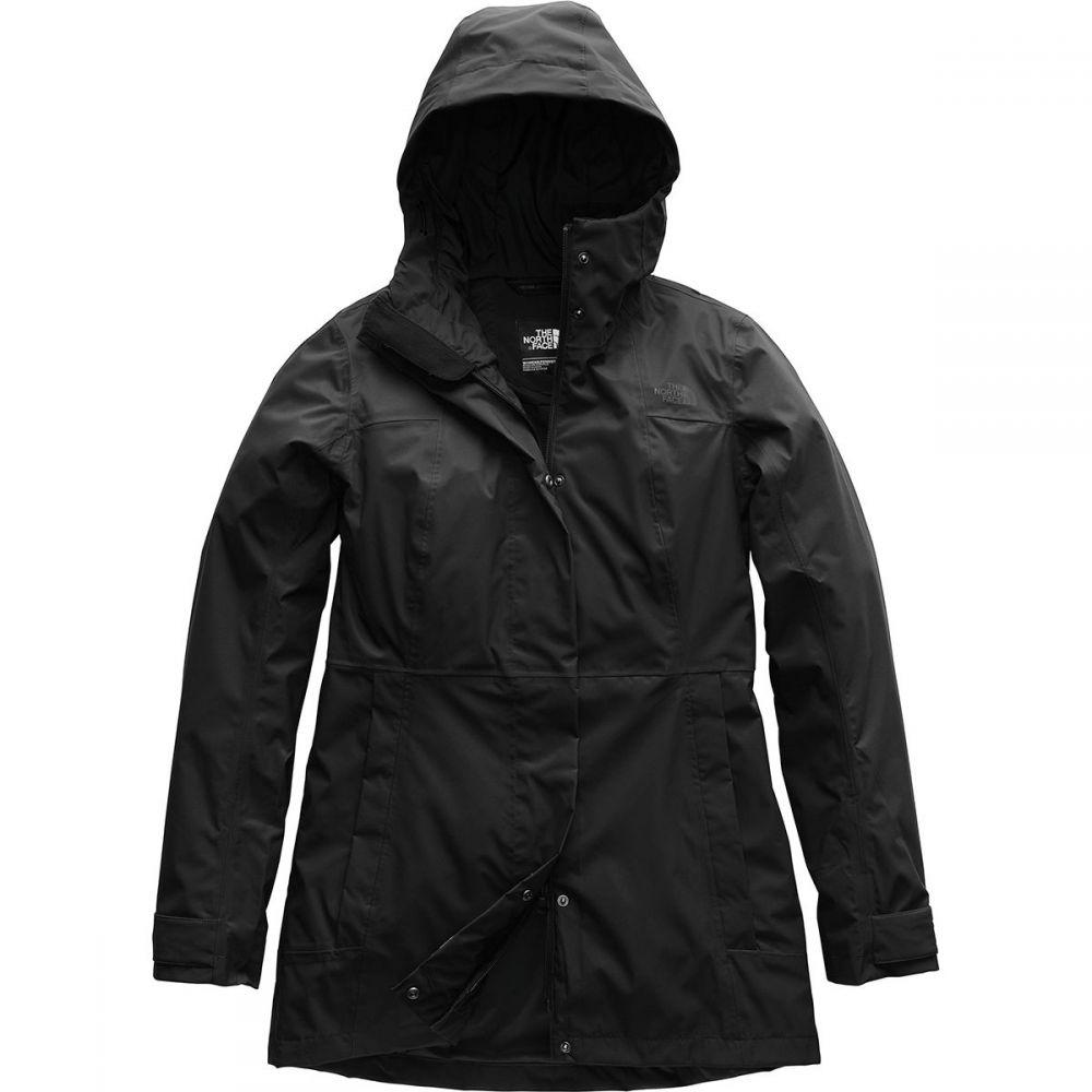 ザ ノースフェイス レディース アウター レインコート【City Midi Trench Jacket】Tnf Black