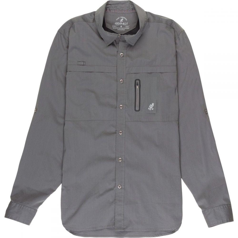 グラミチ メンズ トップス シャツ【No - Squito Shirts】Asphalt Grey