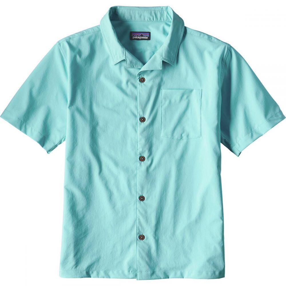 パタゴニア メンズ トップス 半袖シャツ【Stretch Planing Hybrid Shirts】Cuban Blue