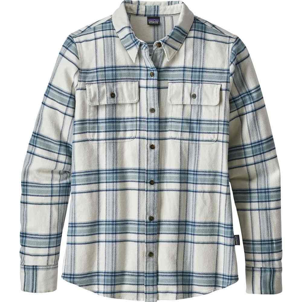 パタゴニア レディース トップス ブラウス・シャツ【Fjord Flannel Shirt】Activist Big/Birch White