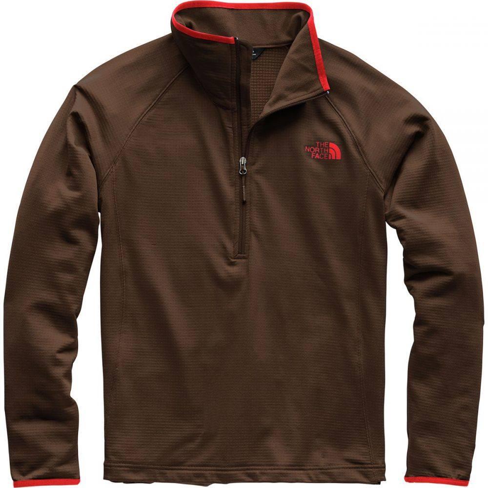 ザ ノースフェイス メンズ トップス フリース【Borod 1/4 - Zip Fleece Jackets】Bittersweet Brown