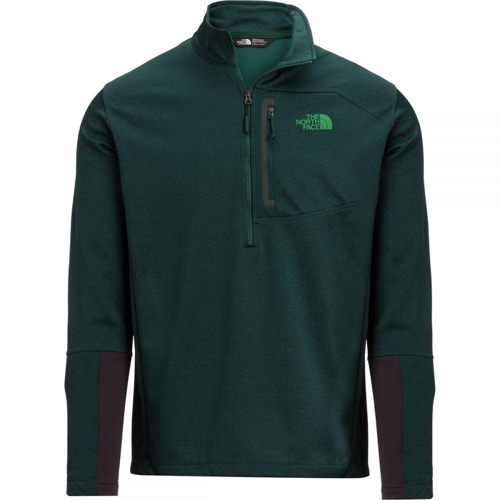 ザ ノースフェイス メンズ トップス フリース【Canyonlands 1/2 - Zip Pullover Fleece Jackets】Botanical Garden Green Heather