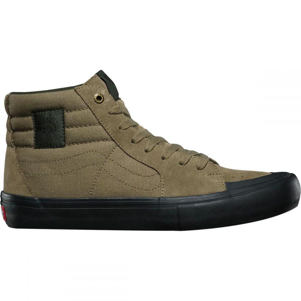 ヴァンズ メンズ スケートボード シューズ・靴【Sk8 - Hi Pro Skate Shoes】(dakota Roche) Covert Green/Black