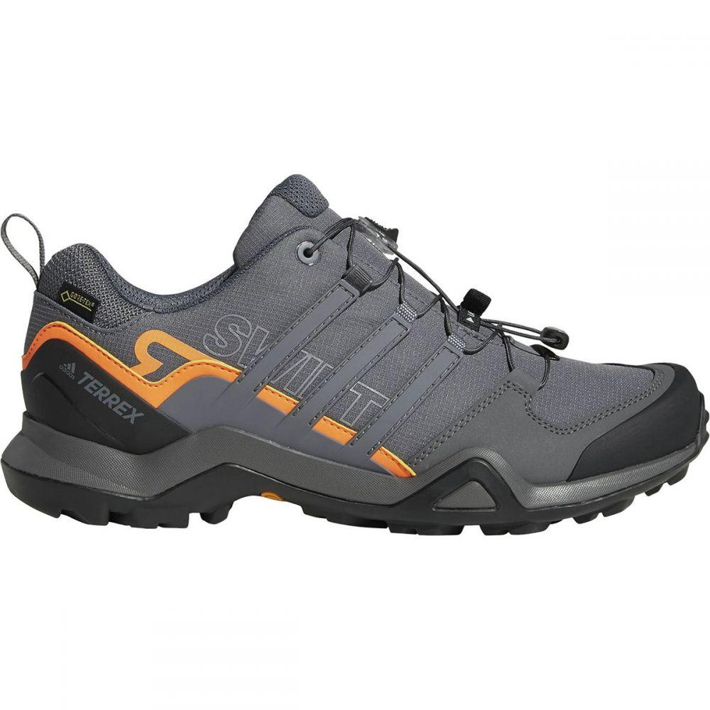 アディダス メンズ ハイキング・登山 シューズ・靴【Terrex Swift R2 GTX Hiking Shoes】Grey Five/Grey Five/Hi-res Orange