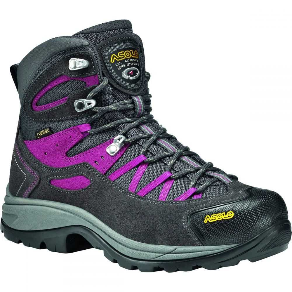 アゾロ レディース ハイキング・登山 シューズ・靴【Falcon GV Hiking Boot】Graphite/Graphite/English Ivy