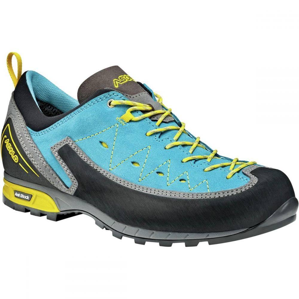 アゾロ レディース ハイキング・登山 シューズ・靴【Apex Shoe】Donkey/Cyan Blue